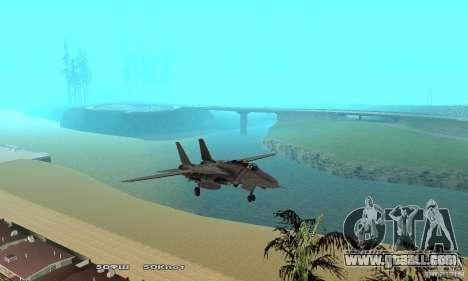F14W Super Weirdest Tomcat Skin 1 for GTA San Andreas side view