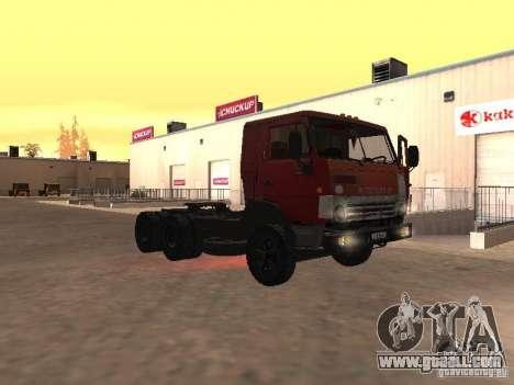 KAMAZ 5410 for GTA San Andreas side view