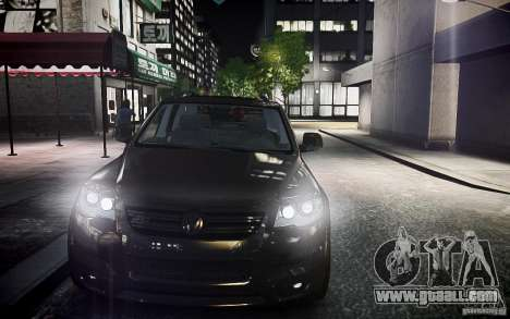 Volkswagen Touareg R50 for GTA 4 back view