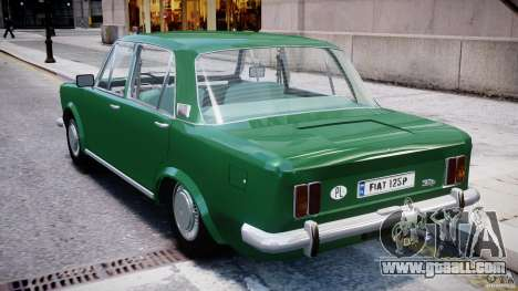 Fiat 125p Polski 1970 for GTA 4 right view