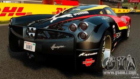 Pagani Huayra 2011 [EPM] for GTA 4 back left view