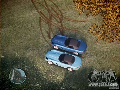 Dodge Viper SRT-10 2003 for GTA 4 left view