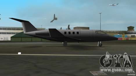 Shamal Plane for GTA Vice City back left view