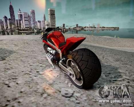 Drag Bike for GTA 4 left view