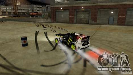 Subaru Impreza WRX STI Rallycross Monster Energy for GTA 4 interior