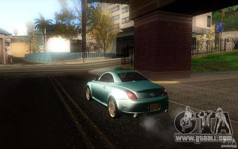 Lexus SC430 for GTA San Andreas left view