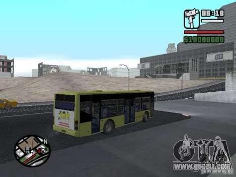 LAZ Presented (SitiLAZ 10) for GTA San Andreas left view