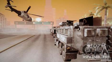 Black Hawk from BO2 for GTA San Andreas