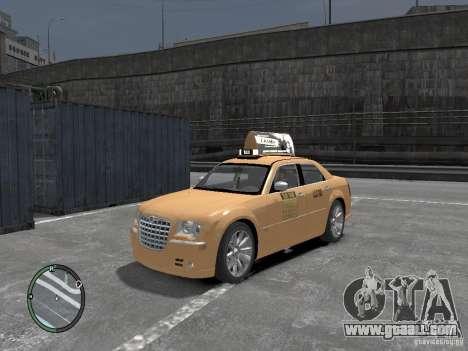 Chrysler 300c Taxi v.2.0 for GTA 4