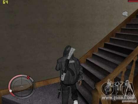 Walk style for GTA San Andreas forth screenshot