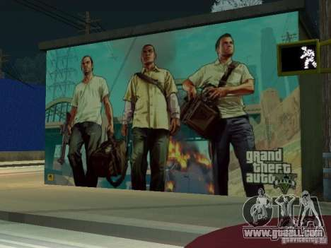Poster Of GTA V for GTA San Andreas third screenshot