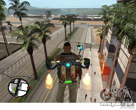 A New Jetpack for GTA San Andreas second screenshot