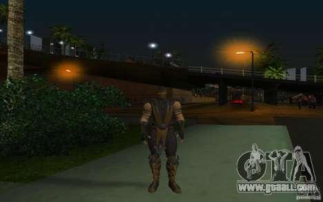 Scorpion v2.2 MK 9 for GTA San Andreas second screenshot