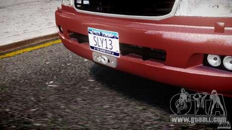 Toyota Land Cruiser 100 Stock for GTA 4 interior