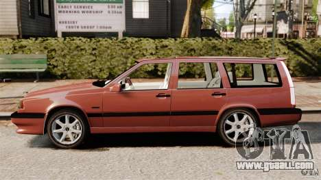 Volvo 850 Wagon 1997 for GTA 4 left view