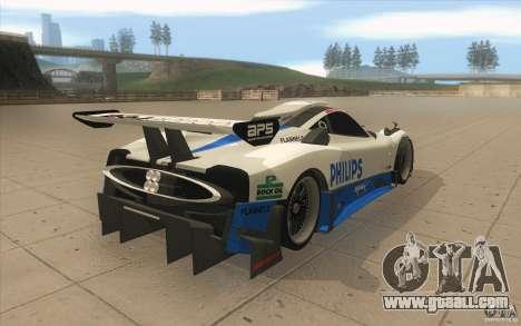 Pagani Zonda Racing Edit for GTA San Andreas side view