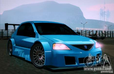 Dacia Logan Trophy Edition 2005 for GTA San Andreas side view