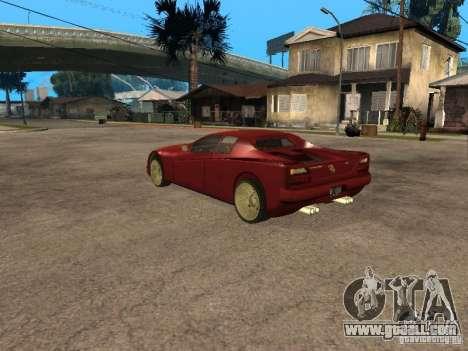 HD Cheetah for GTA San Andreas left view