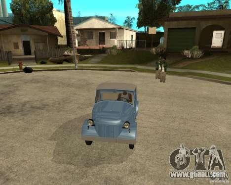 SMZ s-3A for GTA San Andreas