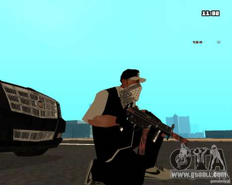 Weapon Pack for GTA San Andreas third screenshot