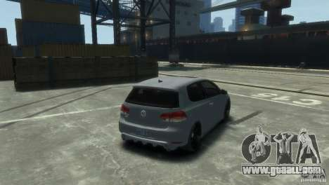 Volkswagen Golf GTI for GTA 4 left view