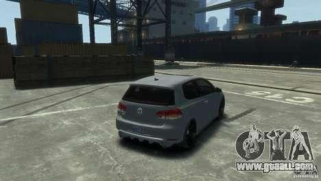 Volkswagen Golf GTI for GTA 4 left view