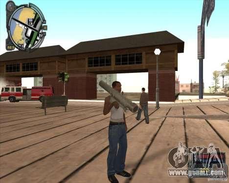 S.T.A.L.K.E.R. Call of Pripyat HUD for SA v1.0 for GTA San Andreas third screenshot