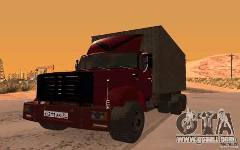 ZIL 6309 for GTA San Andreas right view