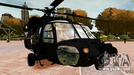 MH-60K Black Hawk for GTA 4 right view