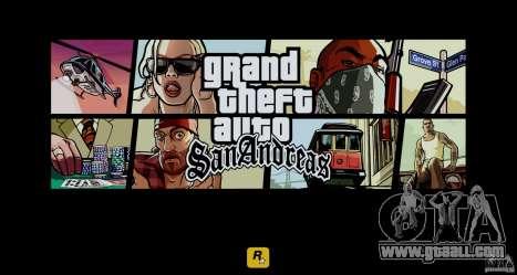 HD Loadscreens v1.01 for GTA San Andreas