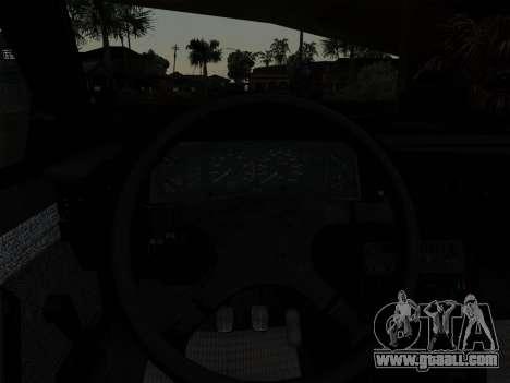 FSO Polonez Caro Orciari 1.4 GLI 16v for GTA San Andreas upper view