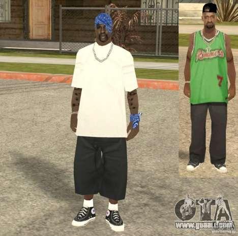 Compton Crips for GTA San Andreas fifth screenshot