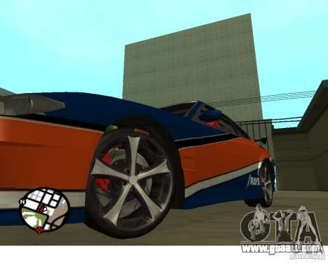 Wheels from the game Juiced 2  Pack 1 for GTA San Andreas second screenshot