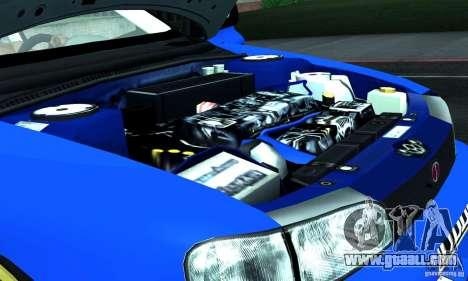 Subaru Impreza 1995 World Rally ChampionShip for GTA San Andreas upper view