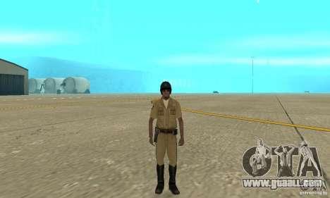 New uniform cops on bike for GTA San Andreas