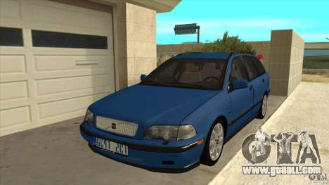 Volvo V40 - Stock for GTA San Andreas