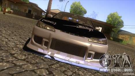 Nissan Silvia S15 Logan for GTA San Andreas inner view