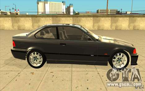 BMW E36 M3 - Stock for GTA San Andreas inner view