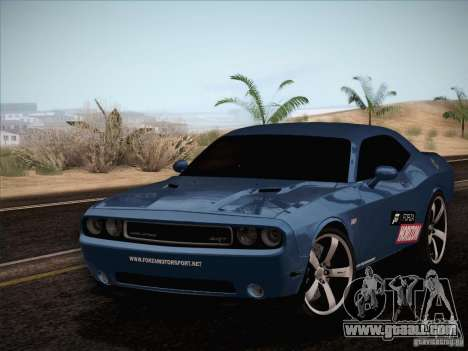 Dodge Challenger SRT8 2010 for GTA San Andreas