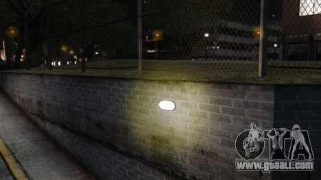 Yellow light lights for GTA 4 forth screenshot