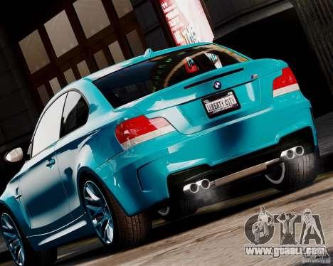 BMW M1 2011 v1.0 for GTA 4 back left view