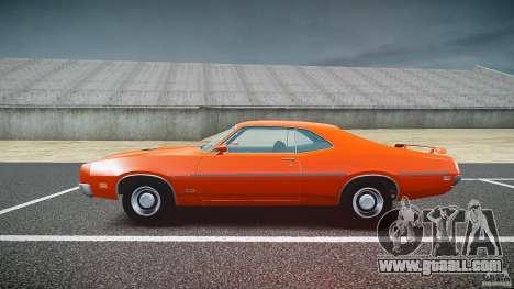 Mercury Cyclone Spoiler 1970 for GTA 4 inner view