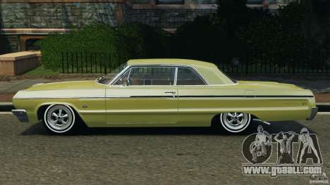 Chevrolet Impala SS 1964 for GTA 4 left view