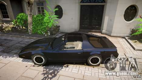 Knight Rider [EPM] for GTA 4 interior