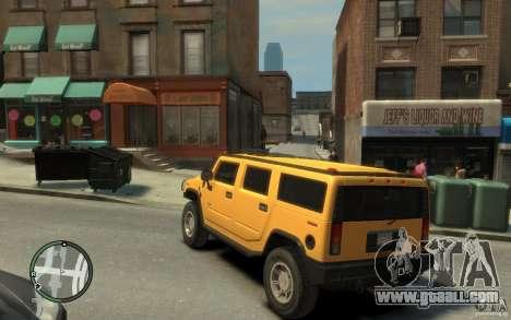 Hummer H2 for GTA 4