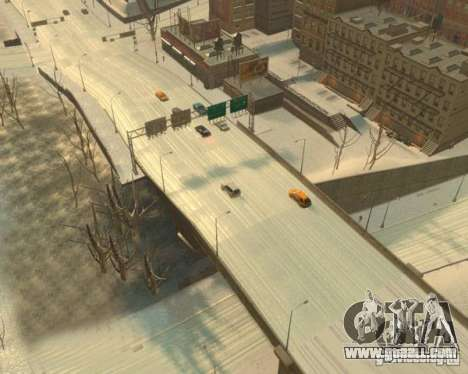 Freezing Rain for GTA 4 third screenshot