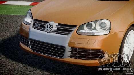 Volkswagen Golf R32 v2.0 for GTA 4 inner view