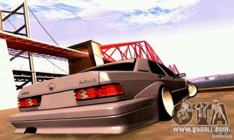 Mercedes-Benz 190E Drift for GTA San Andreas right view