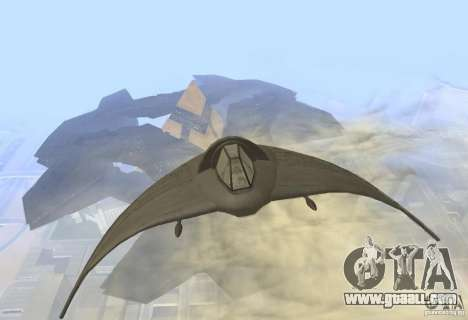 Death Glider for GTA San Andreas left view