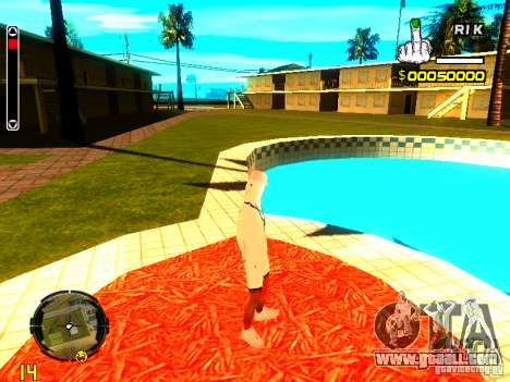 Skin bum v9 for GTA San Andreas fifth screenshot